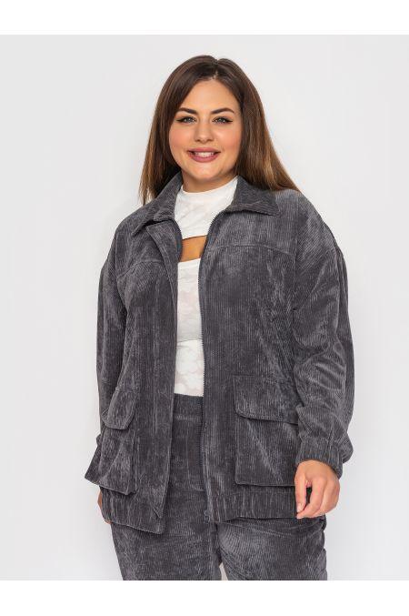 "Куртка ""Эллиот"" (серый)"