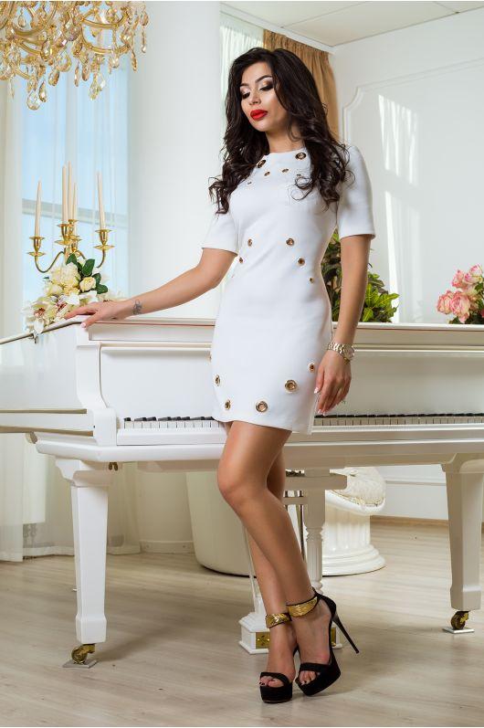 """Платье """"Гранд"""" (белый)"""