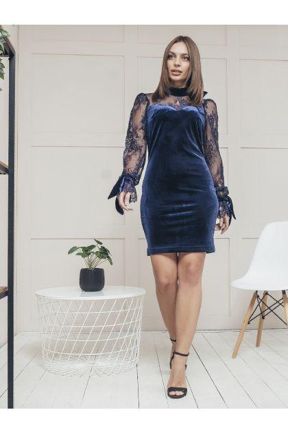 "Платье ""Рамона"" (темно-синий)"