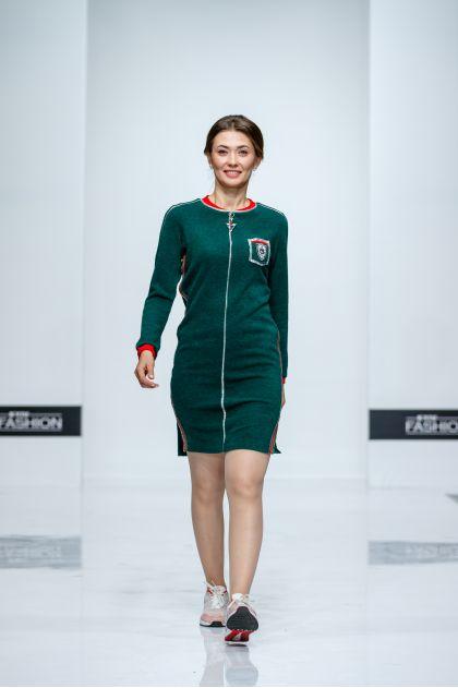 """Платье """"Американо"""" (темно-зеленый)"""