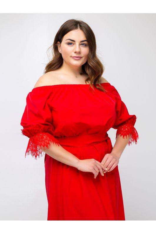 """Платье """"Карано"""" (красный)"""
