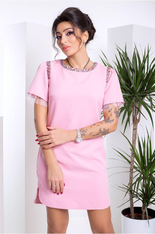 """Платье """"Катарина"""" (розовый)"""