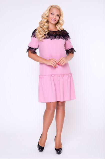 """Платье """"Азура"""" (розовый)"""