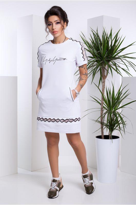 "Платье ""Джесси"" (белый)"