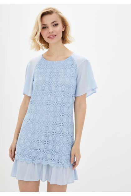 """Платье """"Франческа"""" (голубой)"""