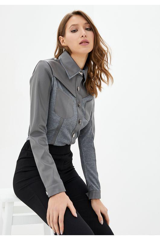"""Рубашка """"Аргентина"""" (серый)"""