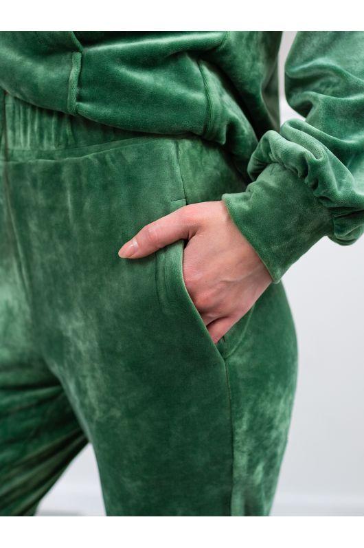 """Велюровый костюм """"Итан"""" (светло-оливковый)"""
